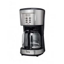Καφετιέρα Izzy Caffea 1095T inox timer