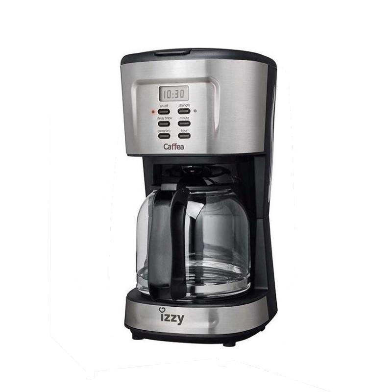 Καφετιέρα γαλλικου Izzy Caffea 1095T inox timer