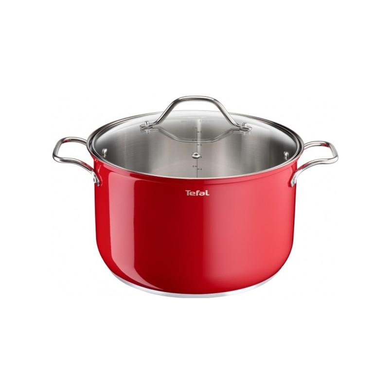Χύτρα Tefal Intuition colors 24cm red