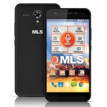 Smartphone MLS Slice 4G (16GB) Black