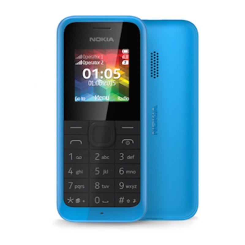 Κινητό Nokia 105 Dual Cyan