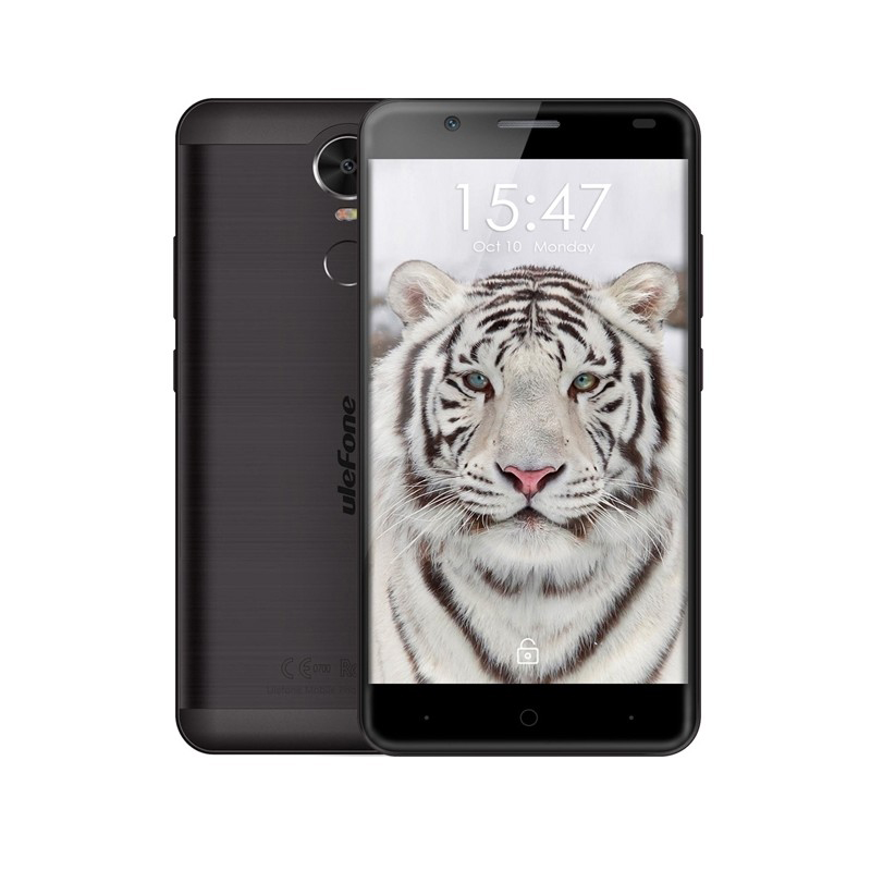 "Smartphone Ulefone Tiger (16GB) 3G 5.5"" Black"