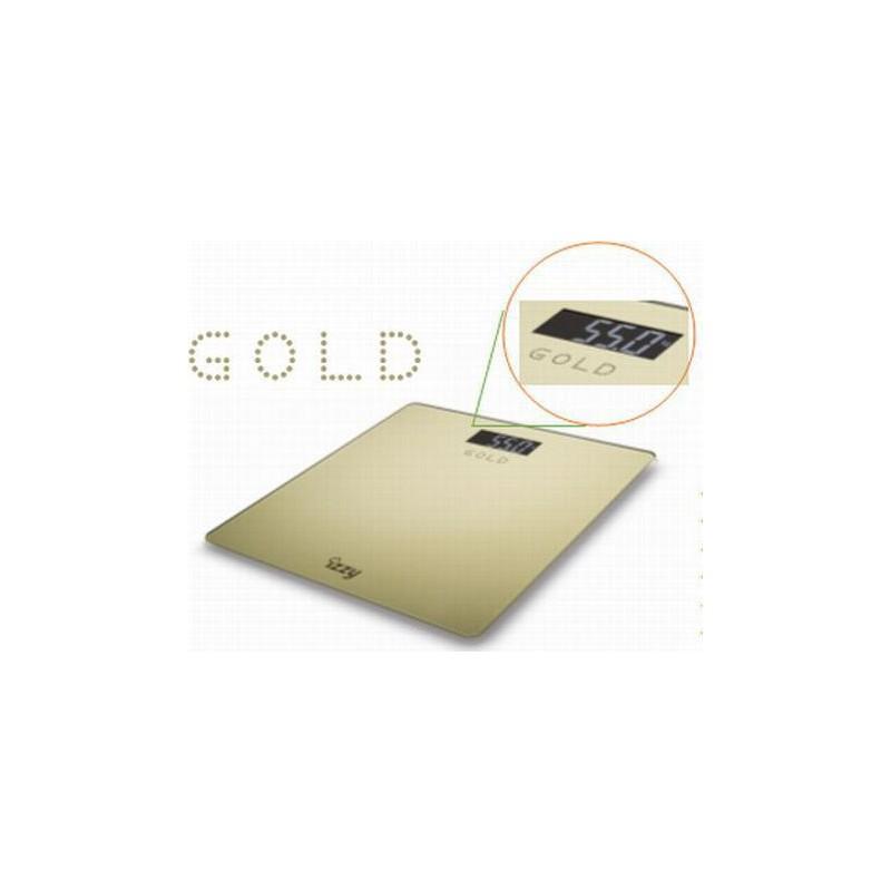 Ζυγαριά Μπάνιου Izzy HB1008 Gold