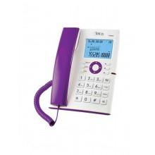 Ενσύρματο Τηλέφωνο Telco GCE 6227 Λευκό/Μώβ