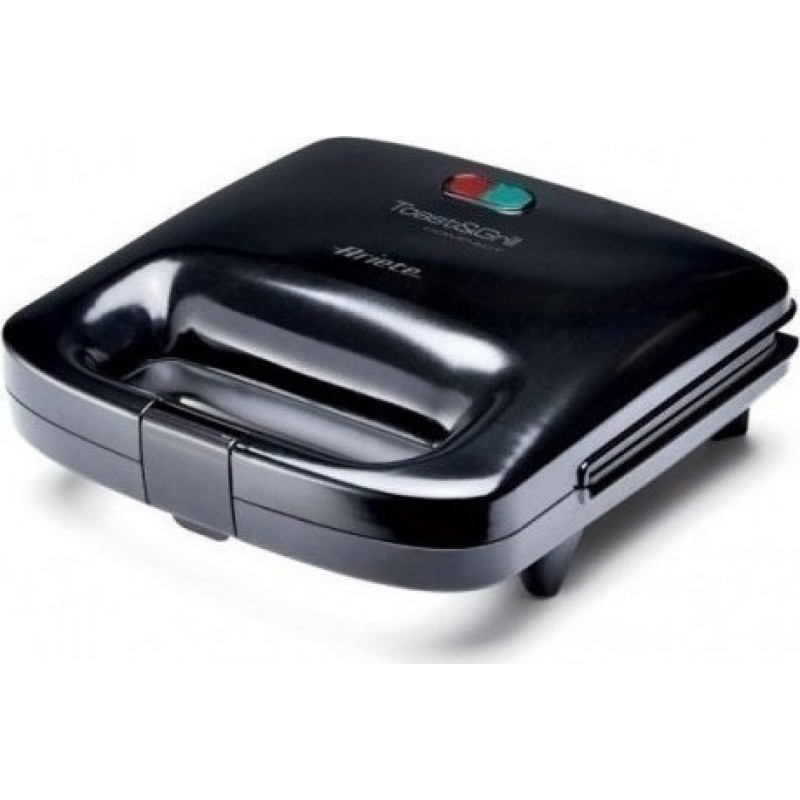 Ariete 1982 Toast Grill Compact Black