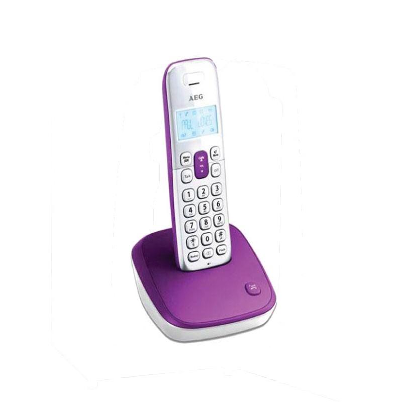 Ασύρματο Τηλέφωνο AEG Voxtel D100 Μώβ