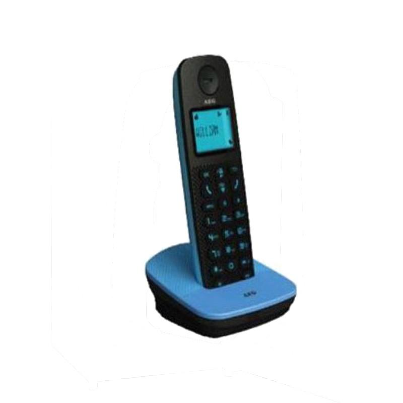 Ασύραμτο Τηλέφωνο AEG Voxtel D120 Μάυρο/Μπλέ