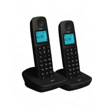 Ασύραμτο Τηλέφωνο AEG Voxtel D120 Twin Μαύρο