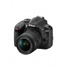 Φωτογραφική Μηχανή Nikon D3400 Kit (AF-P DX 18-55mm f/3.5-5.6G VR) Μαύρη