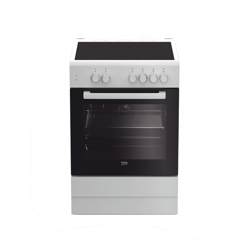 Κουζίνα Κεραμική Beko FSM 67010GW