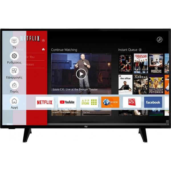 F&U Smart Τηλεόραση LED Full HD FLS43207 43