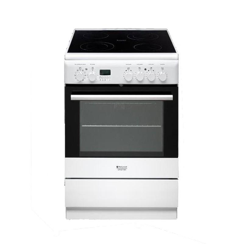 Κουζίνα Κεραμική Hotpoint-Ariston H6VMH6A(W)/GR