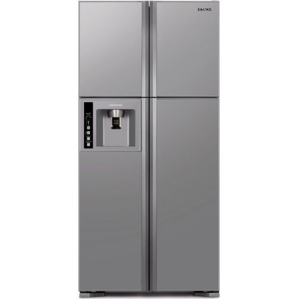 Hitachi Ψυγείο Ντουλάπα NoFrost Inox A+ R-W660PRU3 (INX)