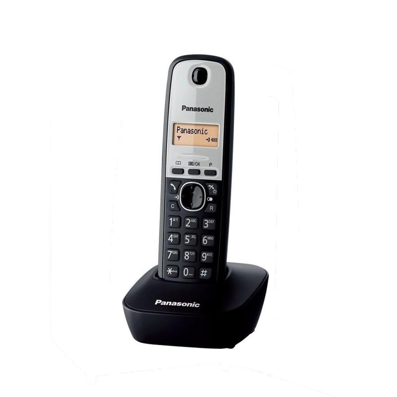 Τηλέφωνο Panasonic -TG1611 GRG Ασημί