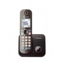 Ασύραμτο Τηλέφωνο Panasonic KX-TG6811 Καφέ