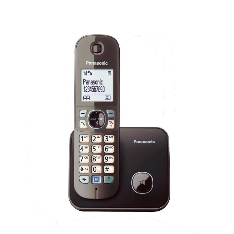 Τηλέφωνο Panasonic KX-TG6811 Καφέ