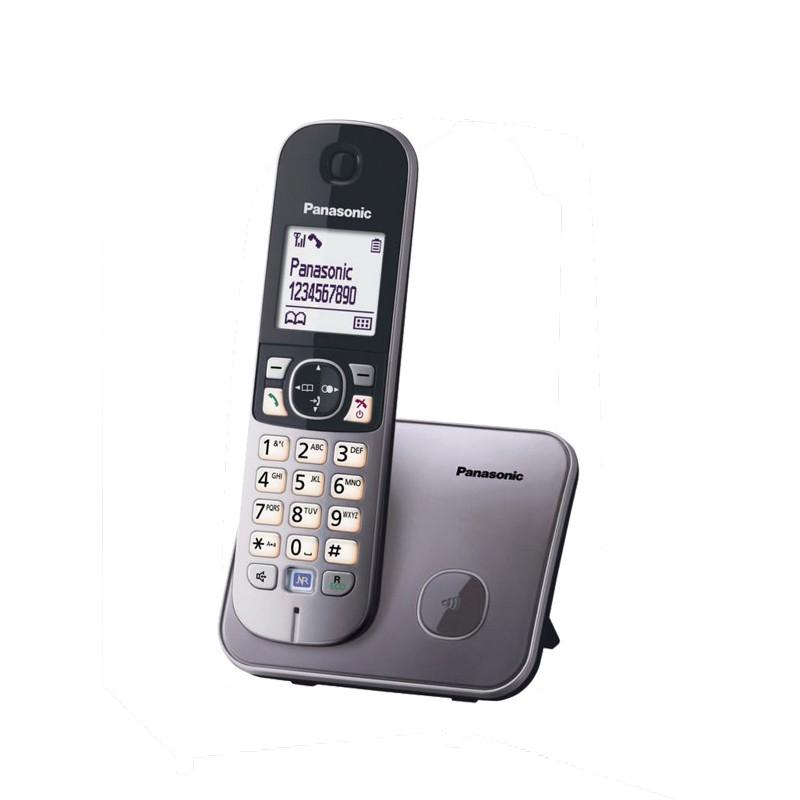 Ασύραμτο Τηλέφωνο Panasonic KX-TG6811 Γκρί