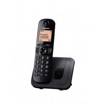 Ασύραμτο Τηλέφωνο Panasonic KX-TGC210GR Μαύρο