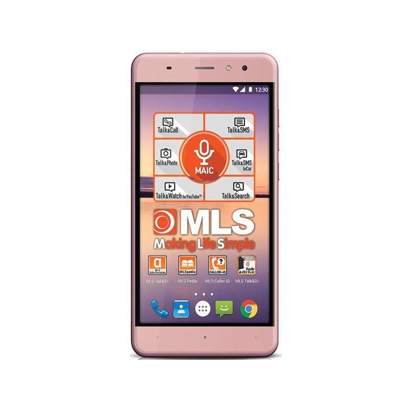 Smartphone Mls Alu 5.5 3G (8GB) Pink