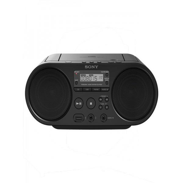 Φορητό Ράδιο-CD Sony ZS-PS50 black