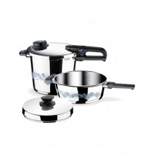 Σετ Μαγειρικών Σκευών Fissler Blue Dream Quattro Set 8lt