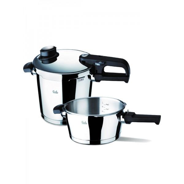 Σετ Μαγειρικών Σκευών Fissler Coronal Set Quattro 8LT