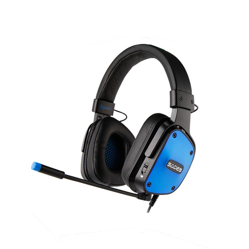 Ακουστικά Sades Gaming Headset SA-722BL