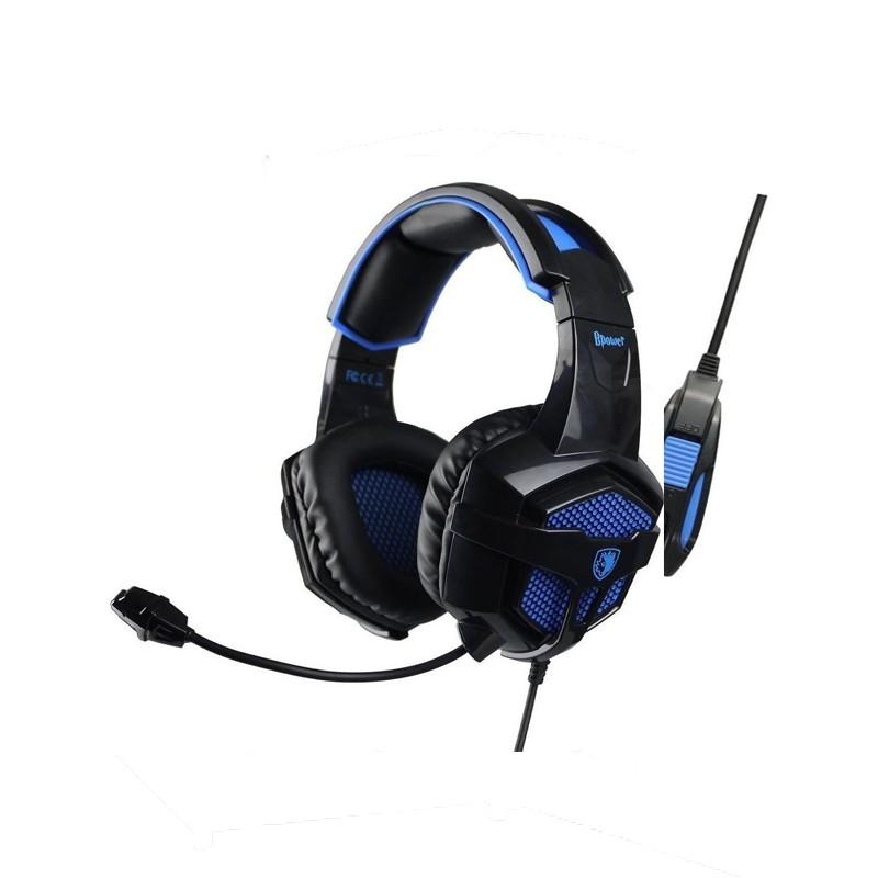 Ακουστικά SADES Gaming headset (Bpower) SA-739BL
