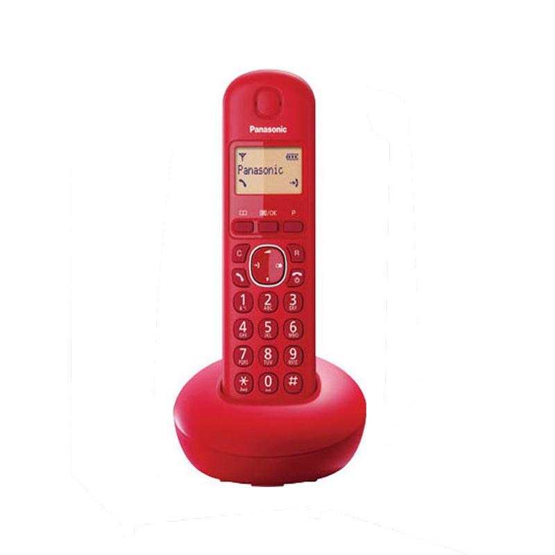 Ασύραμτο Τηλέφωνο Panasonic KX-TGB210 Κόκκινο