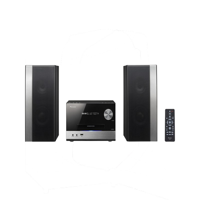 Micro Hi Fi Pioneer X-PM12 Black